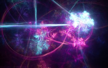 Abstract Cool Colors Colorful Fractal HD Wallpaper | Background Image