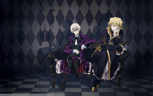 Anime Crossover Alois Trancy Vincent Nightray Black Butler Pandora Hearts HD Wallpaper | Background Image