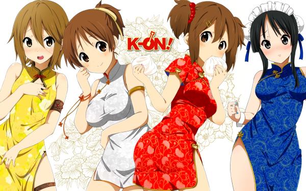 Anime K-ON! Mio Akiyama Azusa Nakano Yui Hirasawa Ritsu Tainaka HD Wallpaper   Background Image