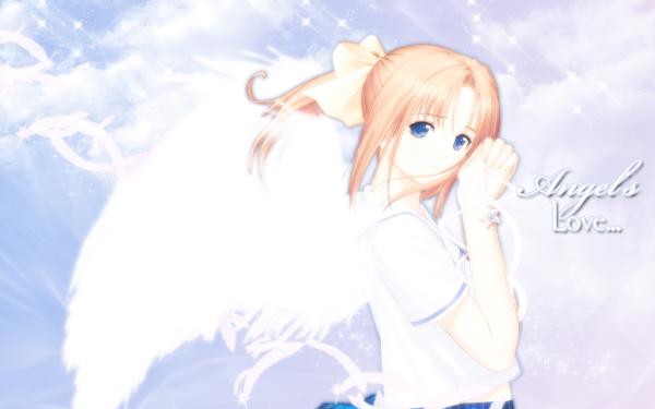 Anime After... Kanami Shiomiya HD Wallpaper | Background Image