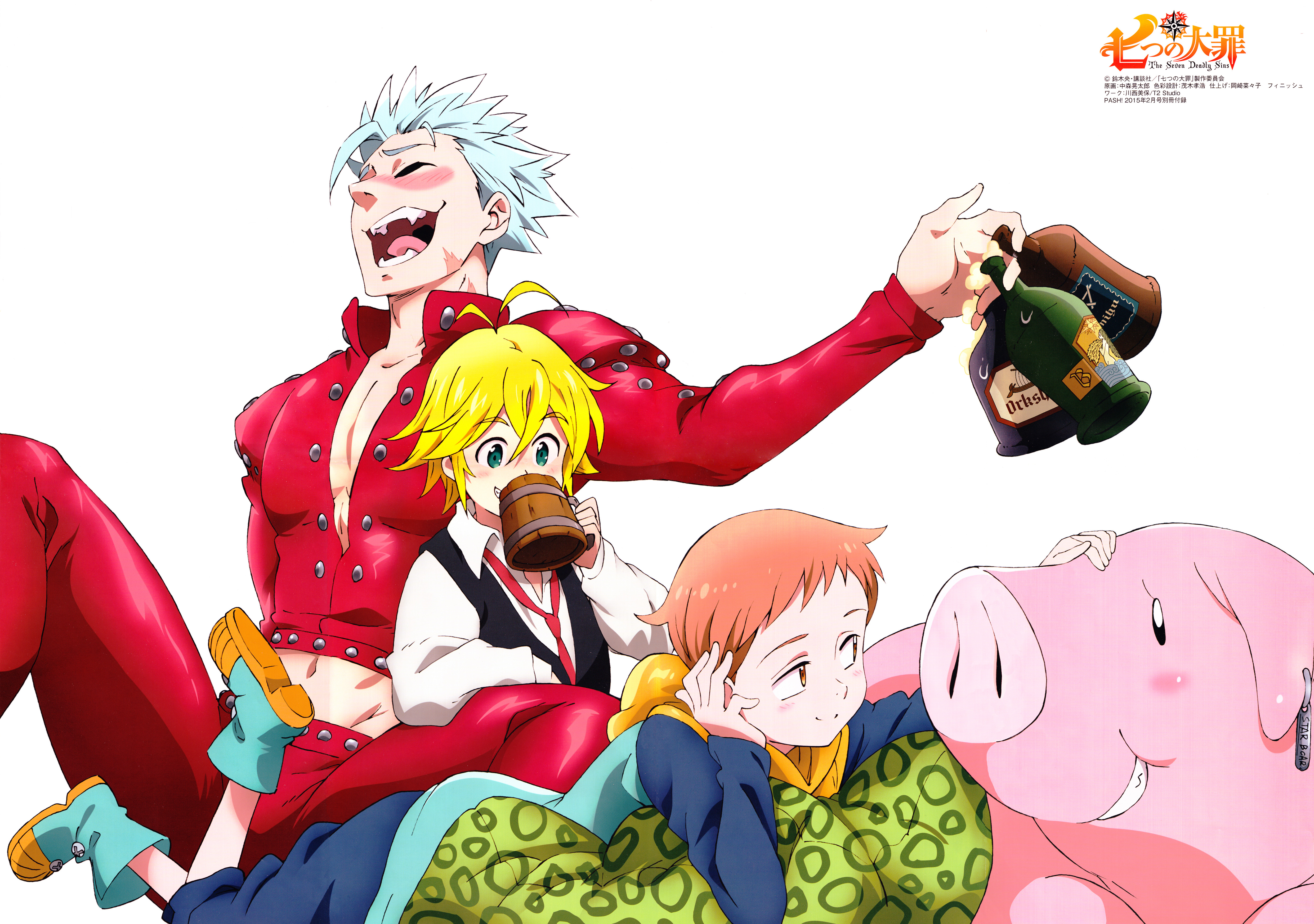 504 The Seven Deadly Sins Hd Wallpapers Background Images