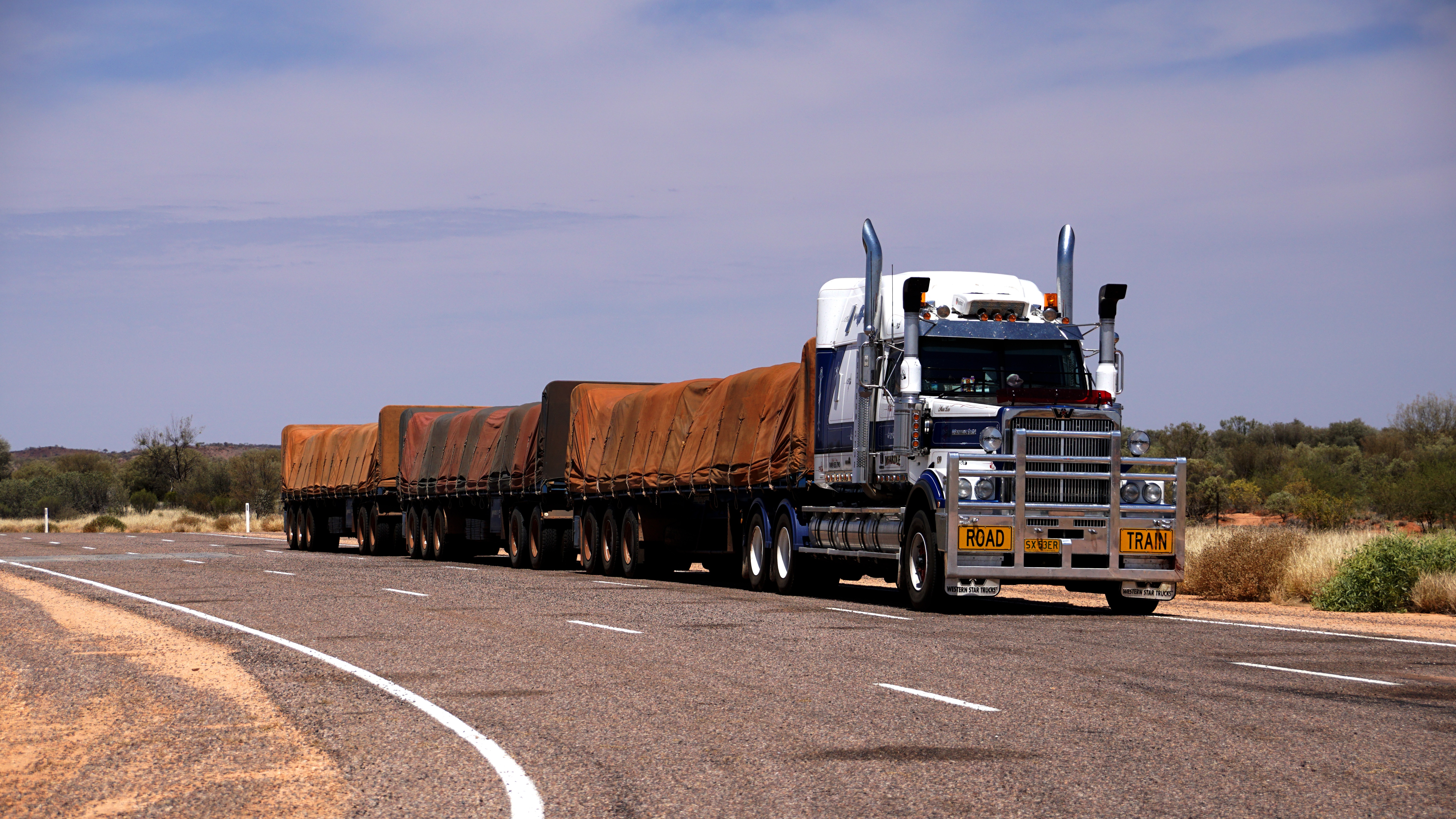 25 Road Train HD Wallpapers