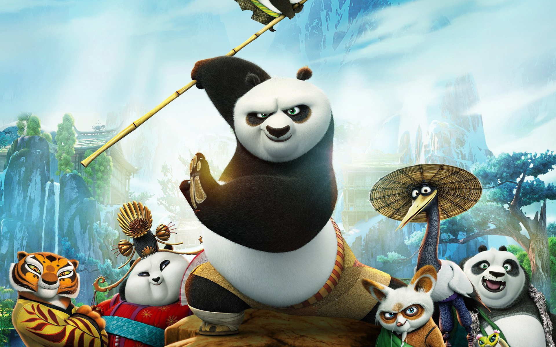 kung fu panda 3 full hd wallpaper and background image | 1920x1200