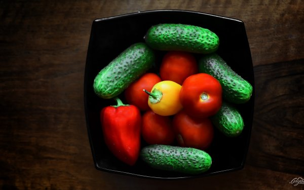 Food Fruits & Vegetables Fruits Still Life Red Pepper Tomato Pickle HD Wallpaper | Background Image