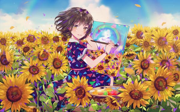 Anime Original Girl HD Wallpaper | Background Image