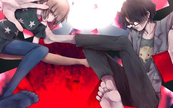 Anime The Perfect Insider Moe Nishinosono Souhei Saikawa HD Wallpaper   Background Image
