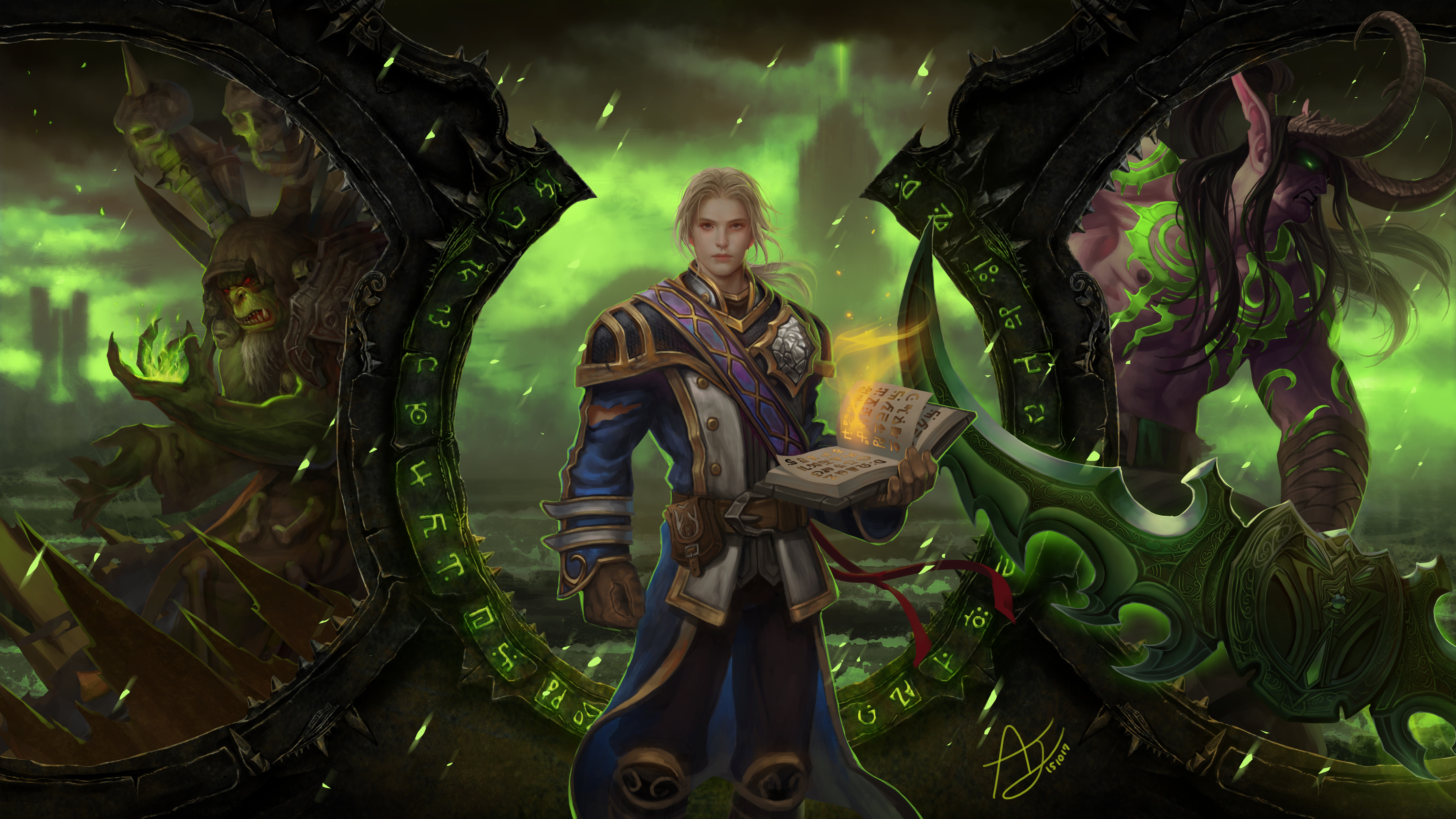 4 gul 39 dan world of warcraft hd wallpapers background - World of warcraft images ...