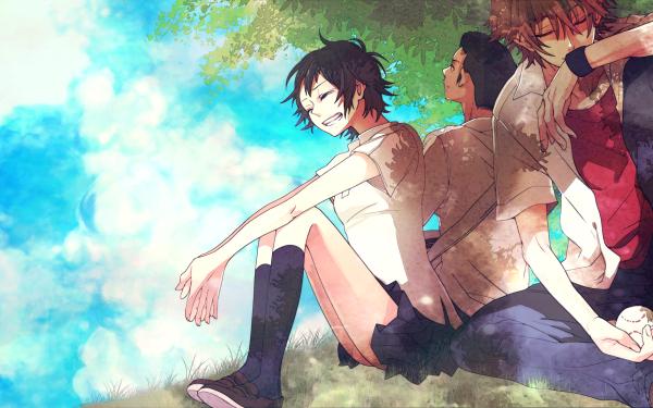 Anime The Girl Who Leapt Through Time Makoto Konno Chiaki Mamiya Kousuke Tsuda HD Wallpaper | Background Image