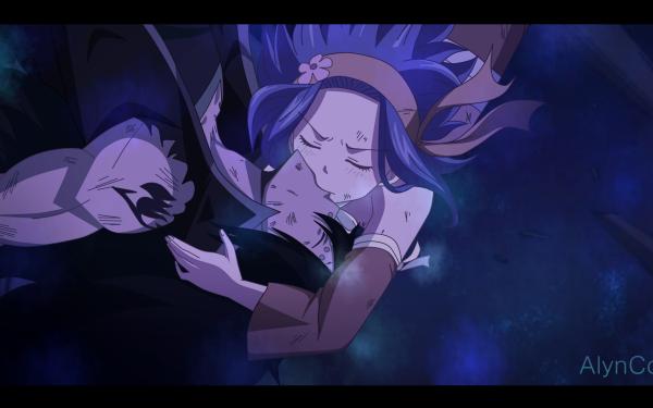 Anime Fairy Tail Levy McGarden Gajeel Redfox Fond d'écran HD | Image
