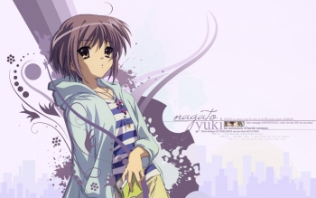 Anime - The Melancholy Of Haruhi Suzumiya Wallpapers and Backgrounds