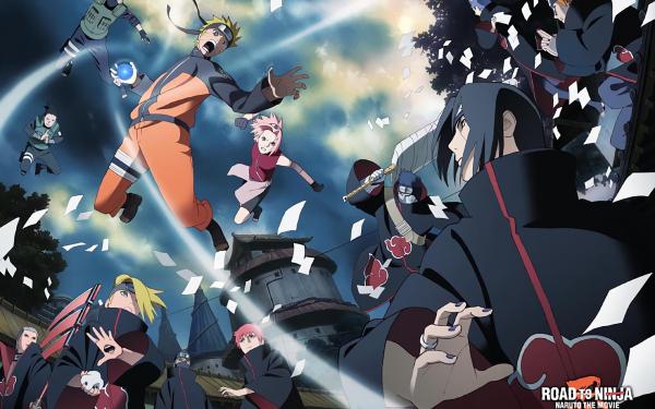 Anime Naruto Naruto Uzumaki Sakura Haruno Kakashi Hatake Pain Konan Itachi Uchiha Kisame Hoshigaki Deidara Sasori Hidan Kakuzu Shikamaru Nara Fond d'écran HD | Image