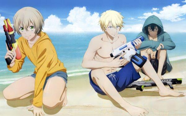 Anime Aoharu × Kikanjū HD Wallpaper | Background Image