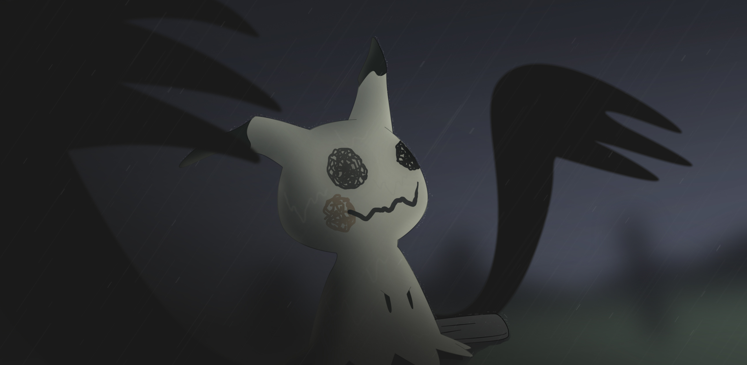 Pokemon Sun And Moon Wallpaper: Mimikkyu HD Wallpaper