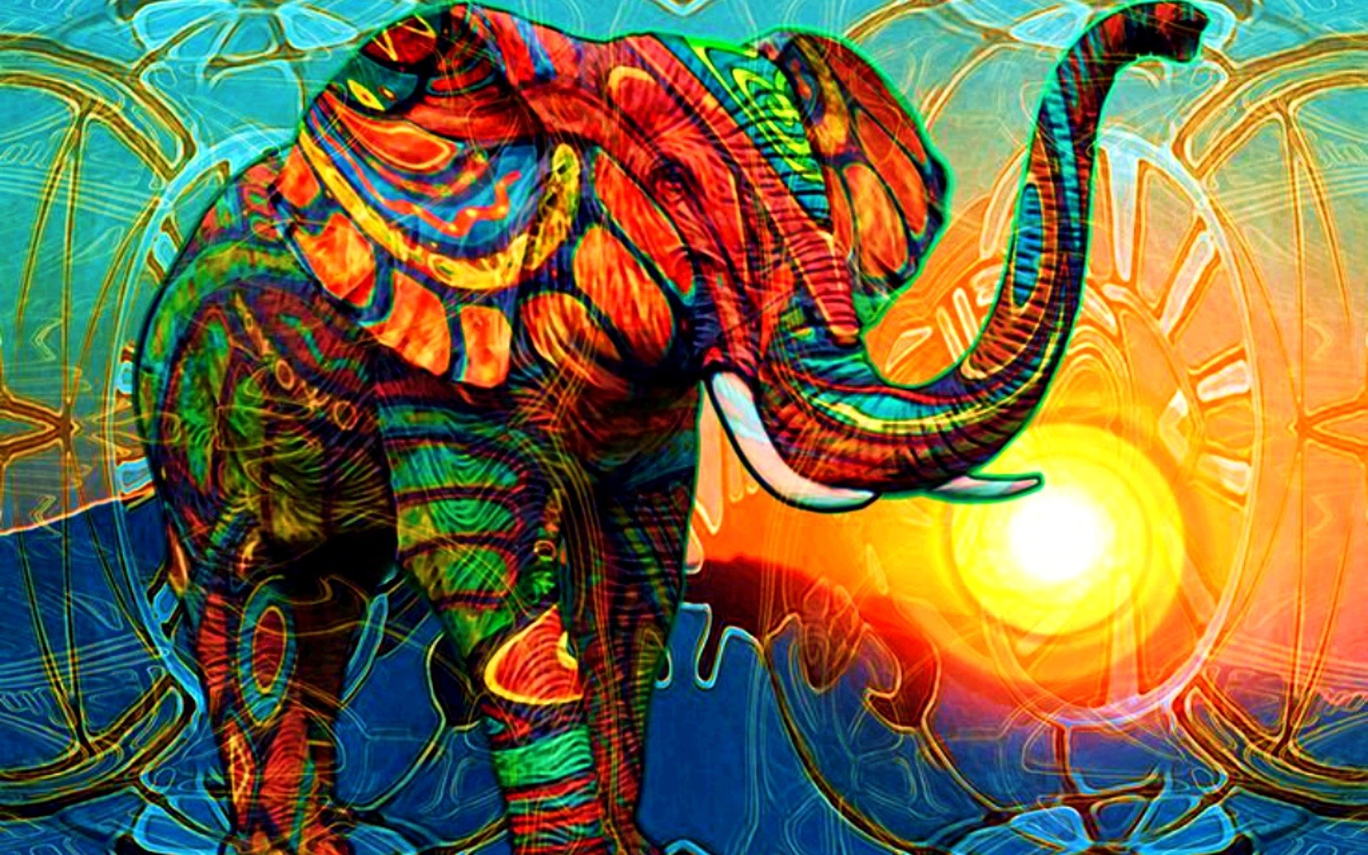 11 elephant hd wallpapers | background images - wallpaper abyss