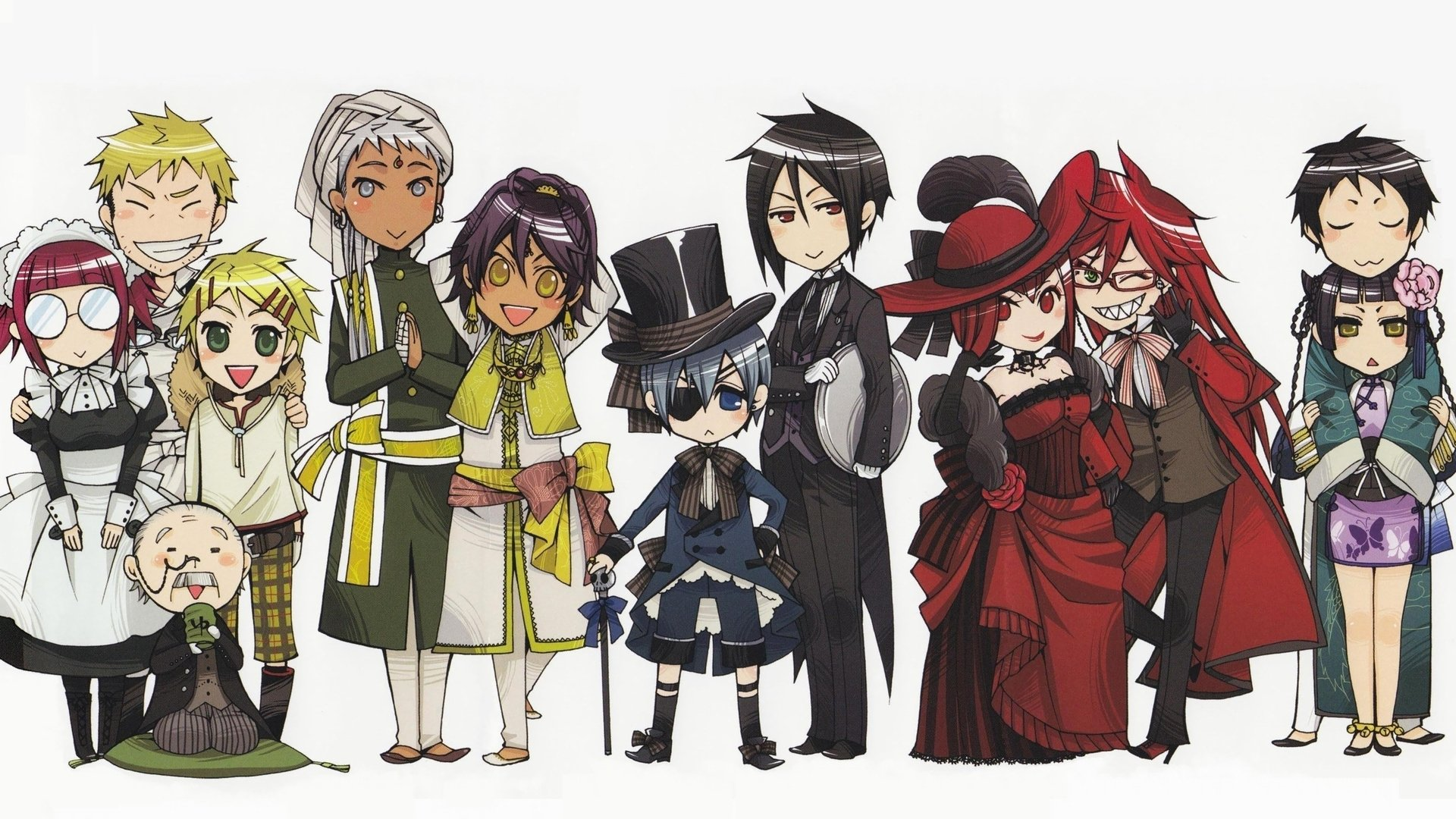 262 Black Butler Hd Wallpapers Background Images Wallpaper Abyss