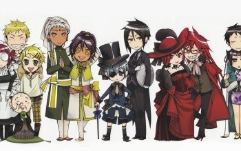 Preview Anime - Black Butler Images