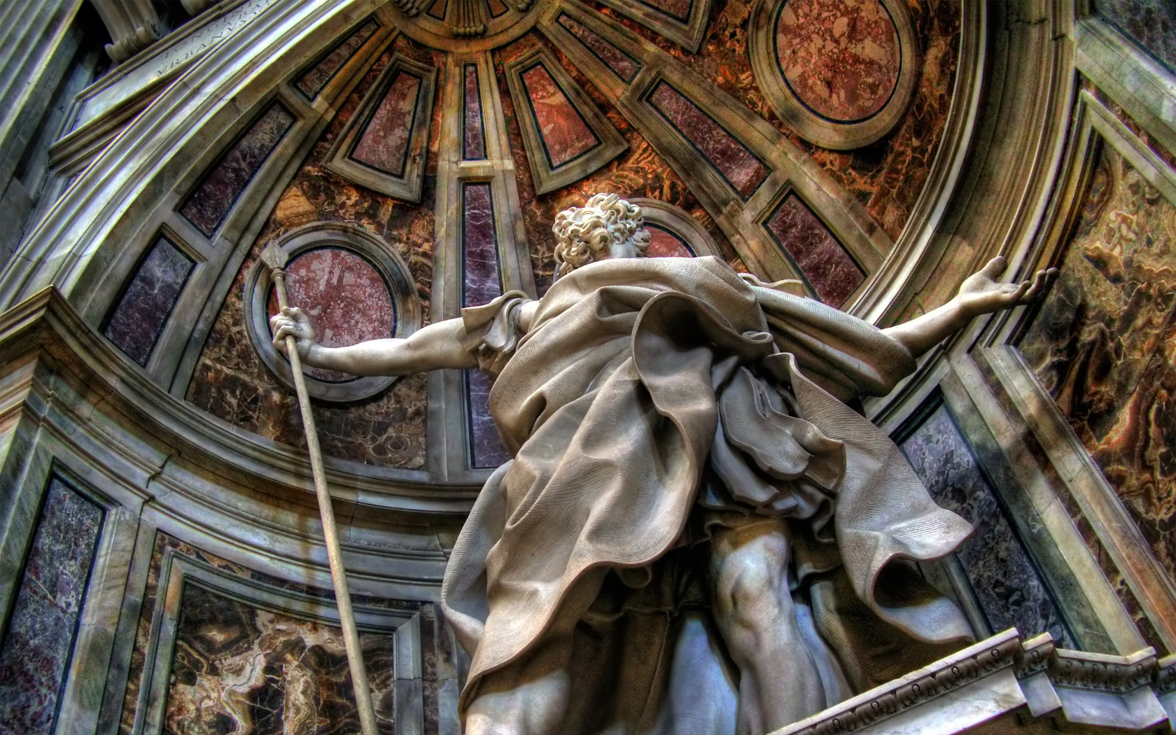 Statue wallpaper and background image 1680x1050 id - San pedro wallpaper ...