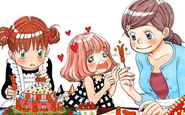 Anime March Comes in Like a Lion Akari Kawamoto Hinata Kawamoto Momo Kawamoto Sangatsu no Lion HD Wallpaper | Background Image