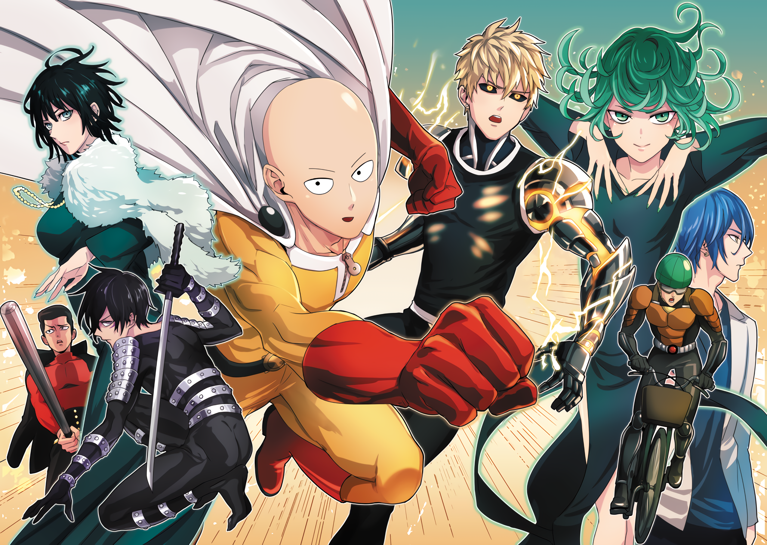 34 Sonic One Punch Man Hd Wallpapers Background Images