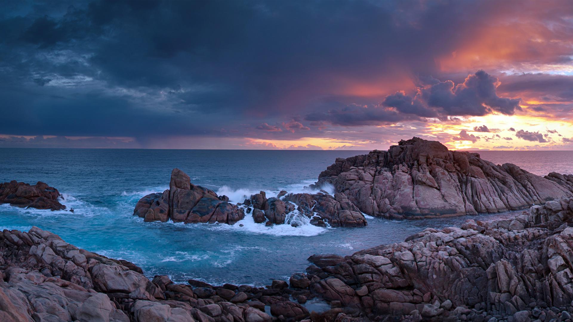 Canal Rocks in Australian Ocean HD Wallpaper | Background ...