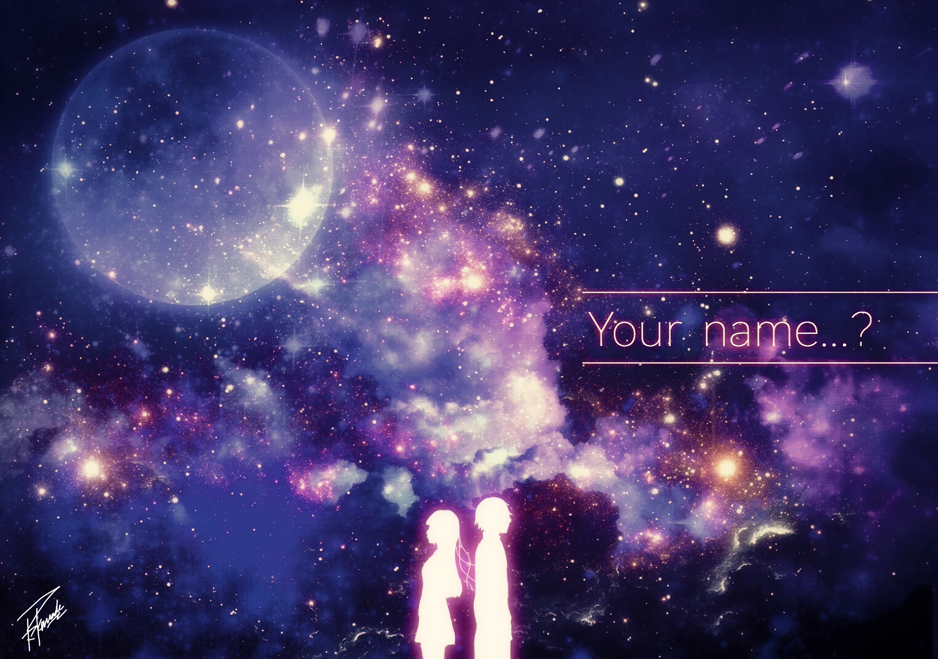 Your Name Hd Wallpaper Background Image 1920x1350 Id 737406