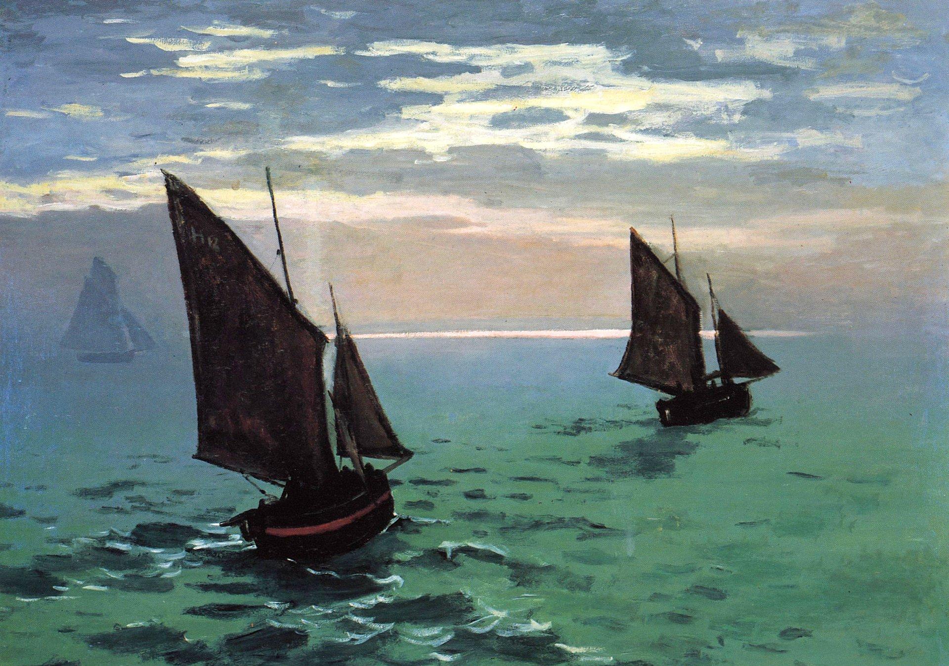 Artistic - Painting  Sailboat Ocean Wallpaper