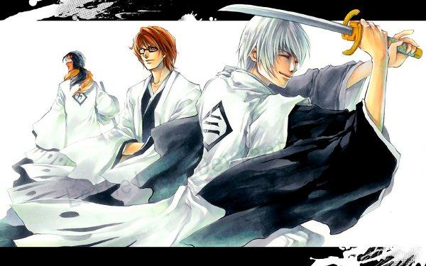 Anime Bleach Gin Ichimaru Sōsuke Aizen Kaname Tosen Fondo de pantalla HD   Fondo de Escritorio