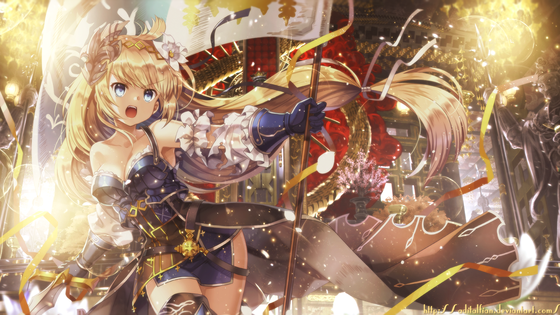 111 Granblue Fantasy Hd Wallpapers Background Images Wallpaper