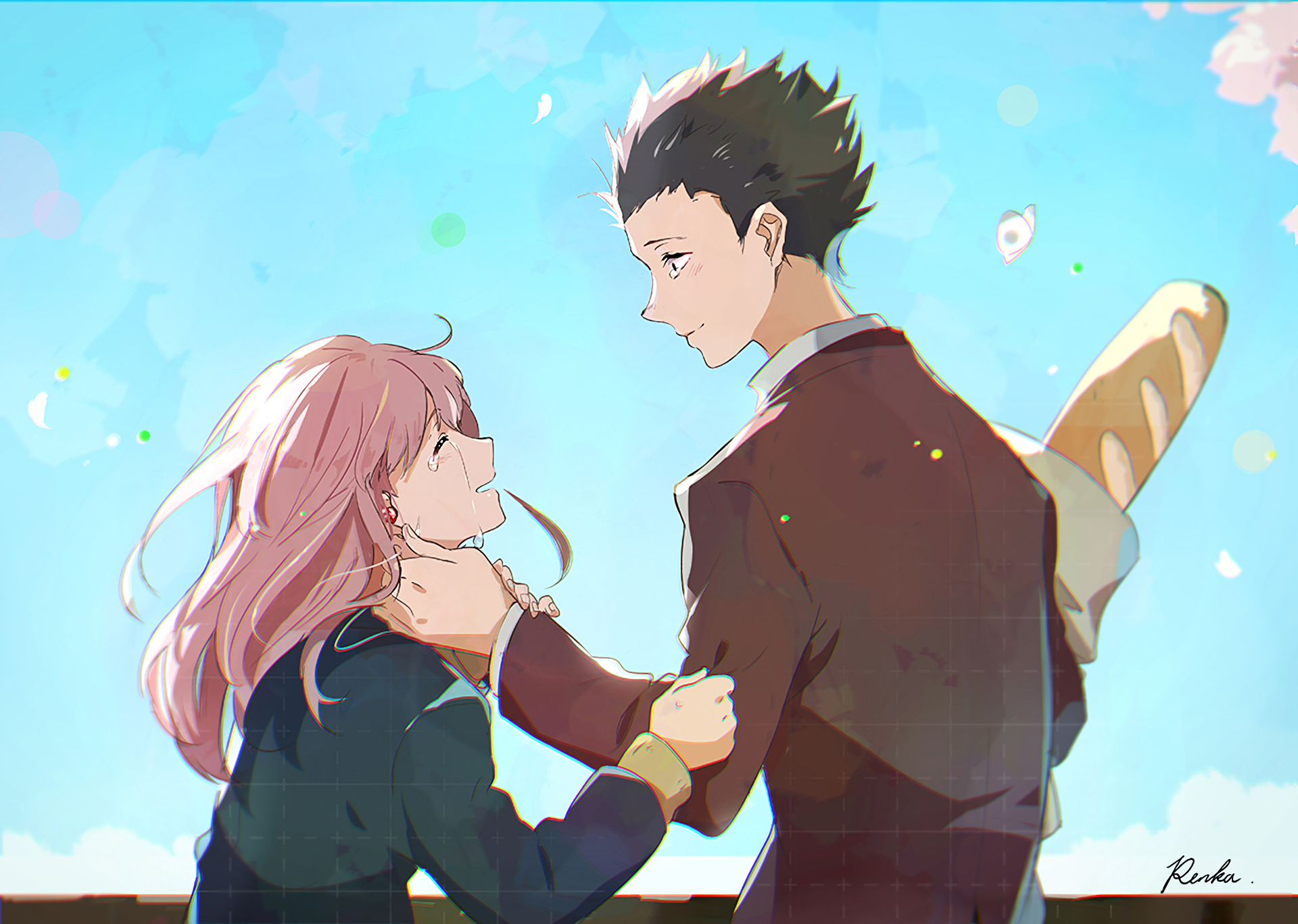 a silent voice movie review airztonne anime