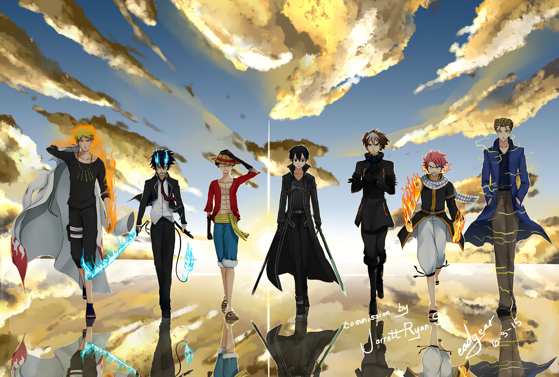 hd wallpaper background id739919 1920x1295 anime crossover