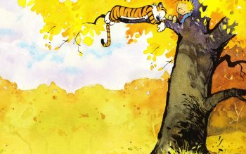 Cartoon - Calvin And Hobbes Wallpapers and Backgrounds ID : 73940