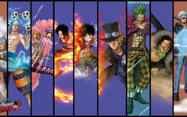 Anime One Piece Monkey D. Luffy Trafalgar Law Sabo Portgas D. Ace Smoker Enel Donquixote Doflamingo Crocodile HD Wallpaper | Background Image