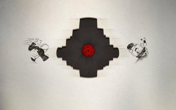 Anime Naruto Naruto Uzumaki Sasuke Uchiha Sharingan Infinite Tsukuyomi HD Wallpaper | Background Image