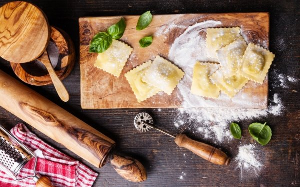 Food Still Life Pasta Flour HD Wallpaper | Background Image