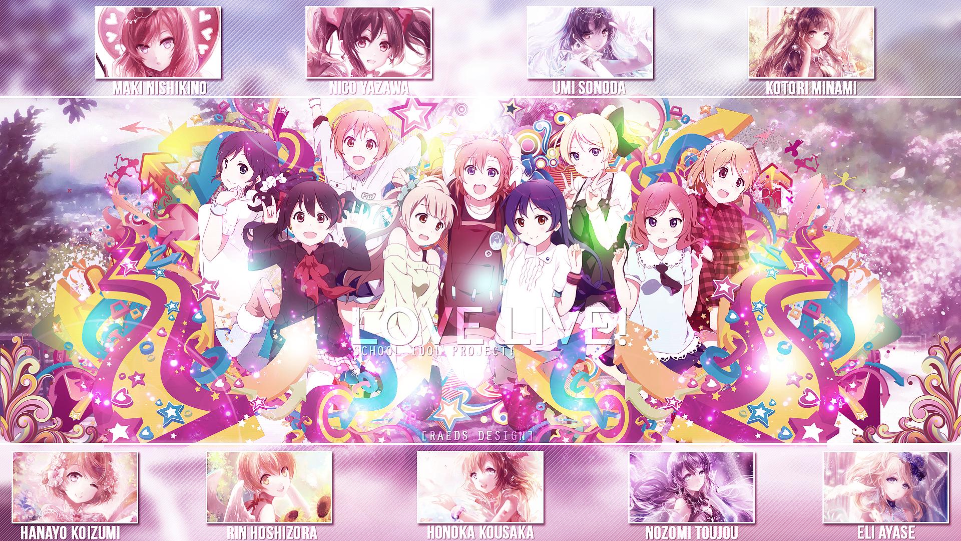 Love Live Wallpaper Hd New: Love Live! HD Wallpaper