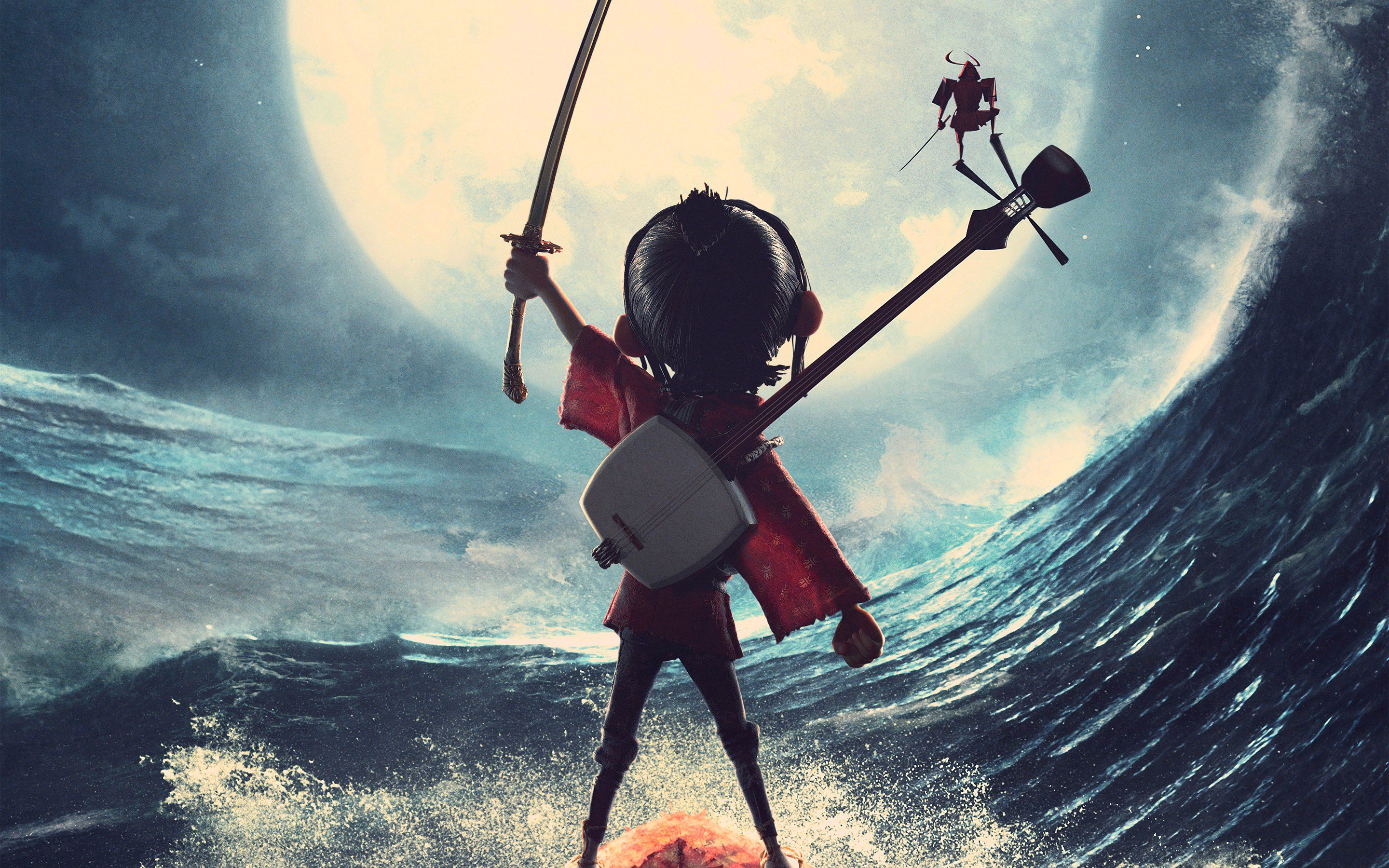 Kubo And The Two Strings Hd Wallpaper Background Image