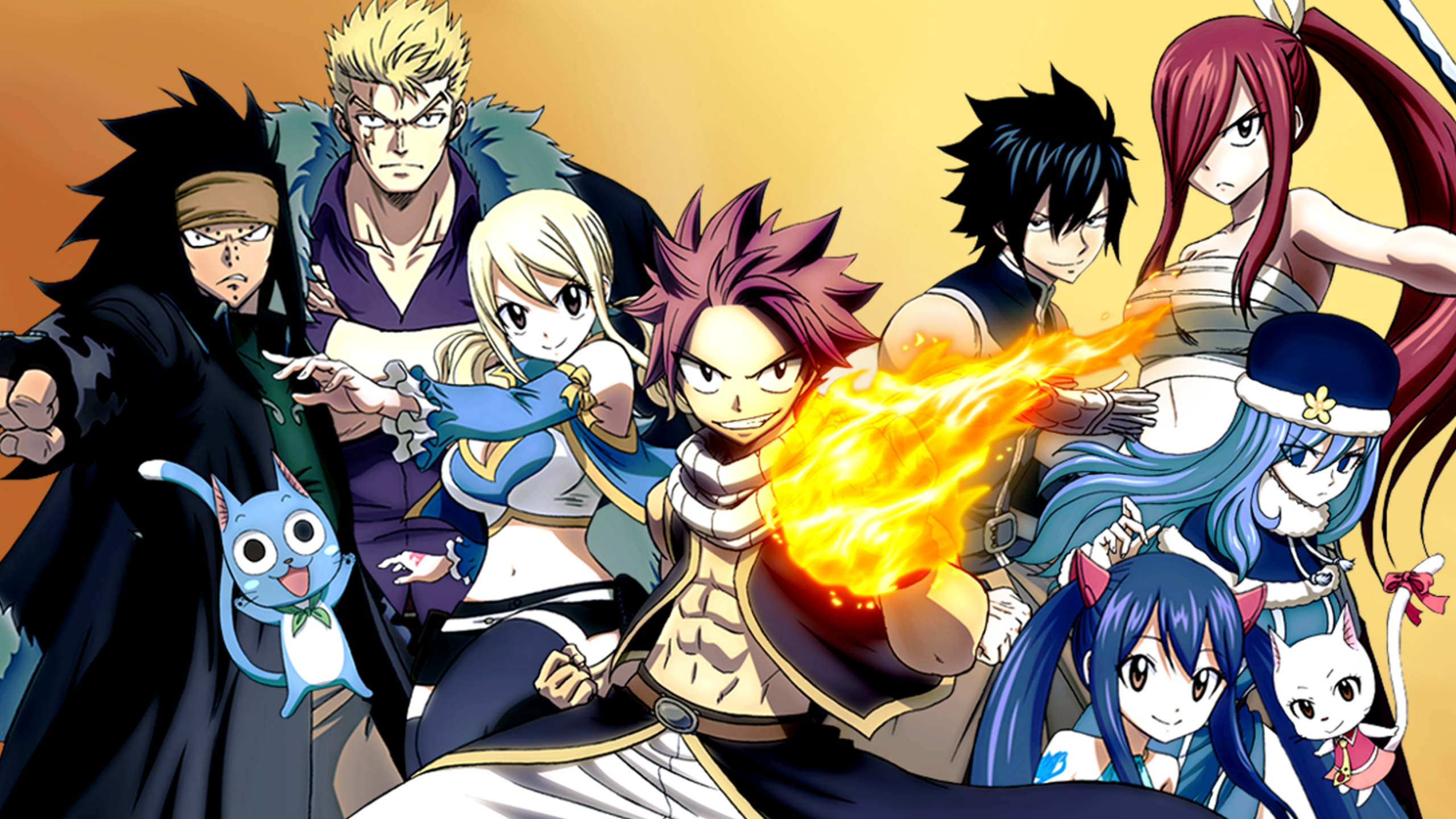 Fairy Tail HD Wallpaper | Background Image | 2560x1440 | ID:743737 - Wallpaper Abyss