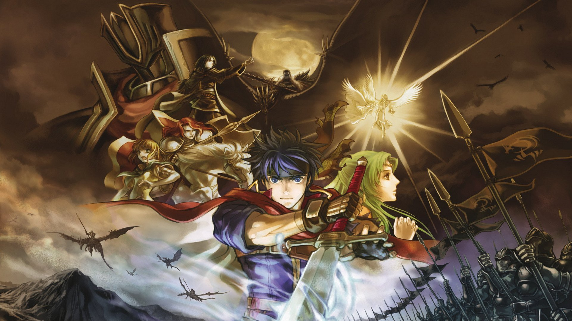 fire emblem path of radiance full hd wallpaper and
