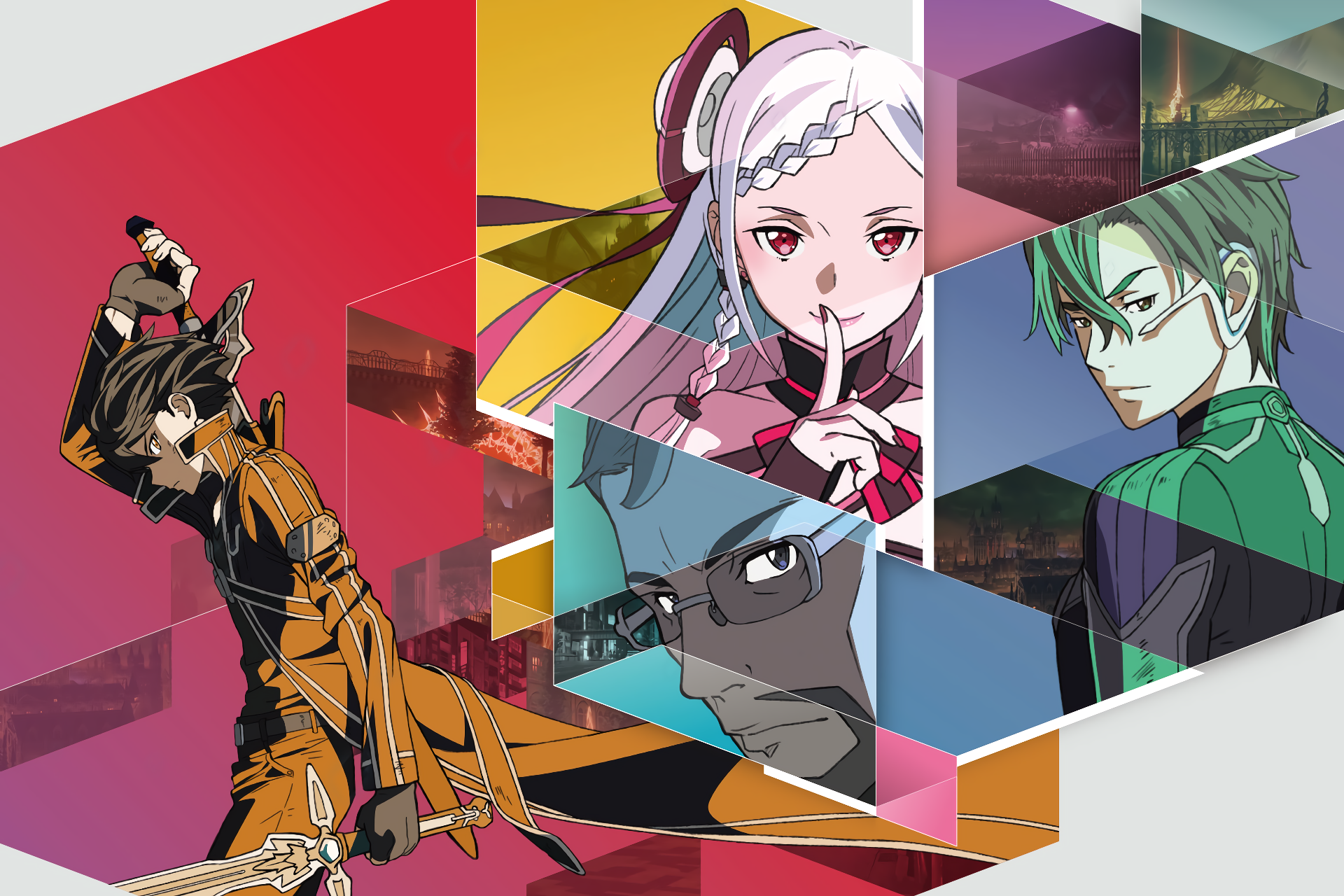 Anime - Sword Art Online Movie: Ordinal Scale  Sword Art Online Ordinal Scale Sword Art Online Eiji (Sword Art Online) Yuna (Sword Art Online) Kazuto Kirigaya Kirito (Sword Art Online) Shigemura Tetsuhiro Wallpaper