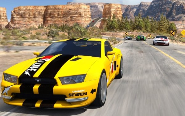 Video Game TrackMania 2 Canyon HD Wallpaper | Background Image