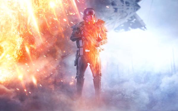 Videojuego La Guerra De Las Galaxias La Guerra de las Galaxias Battlefield Stormtrooper Fondo de pantalla HD | Fondo de Escritorio