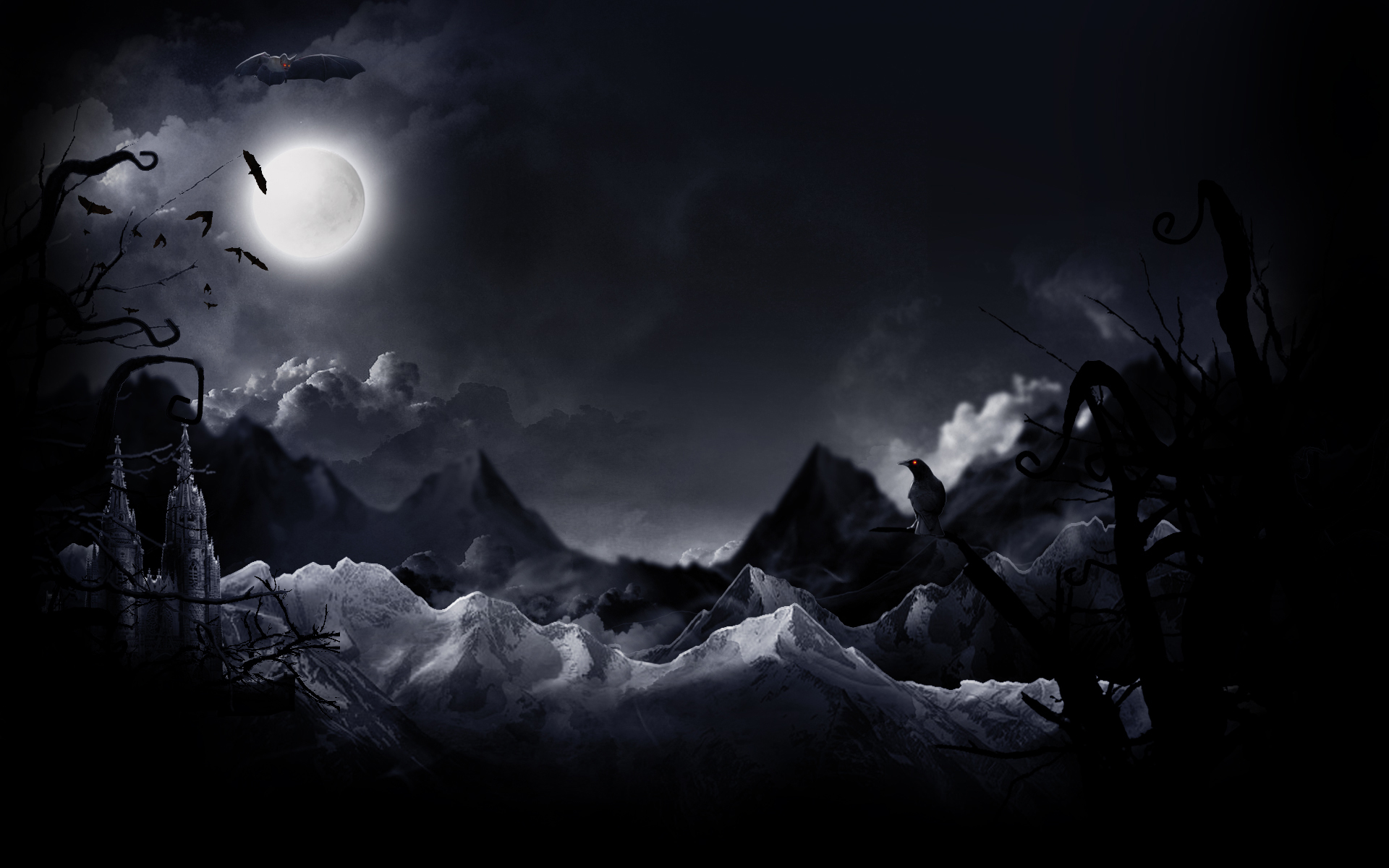 Download Wallpaper Night Dark - 748996  Picture.png