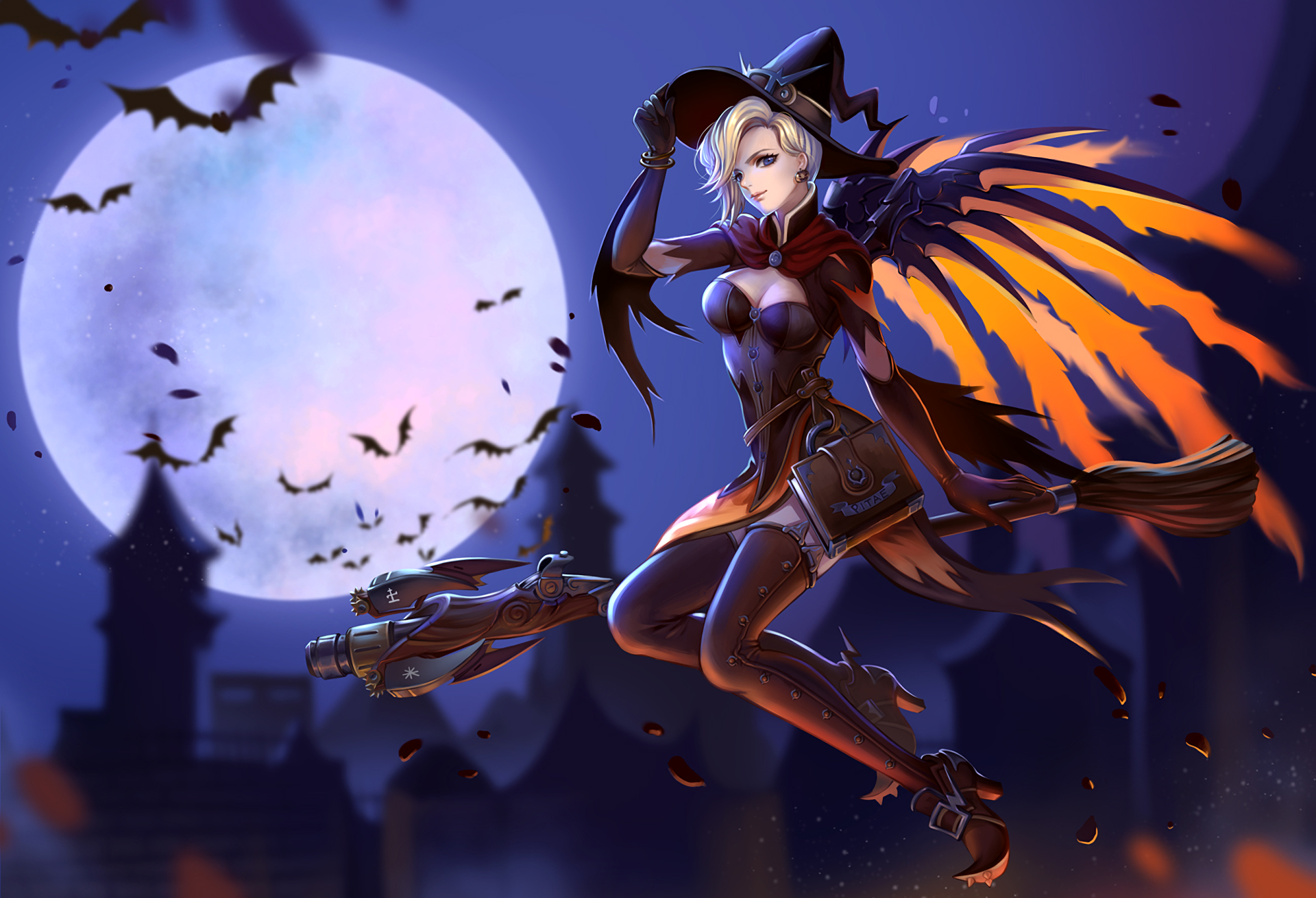 237 Mercy (Overwatch) HD Wallpapers | Background Images ...
