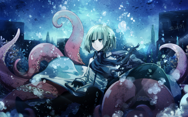 Anime Wadanohara Fukami HD Wallpaper   Background Image