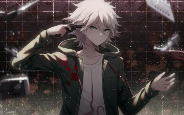 Video Game Danganronpa 2: Goodbye Despair Danganronpa Nagito Komaeda HD Wallpaper   Background Image