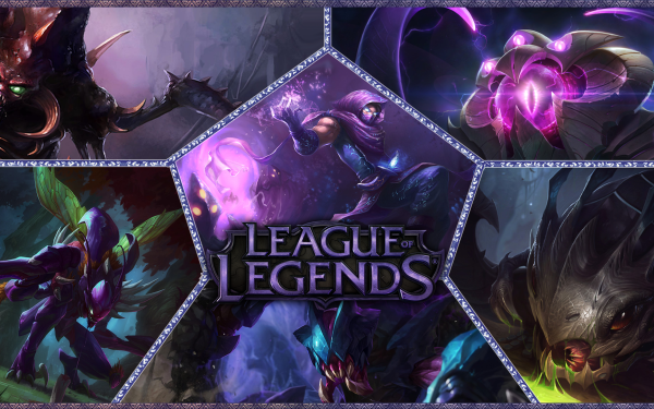 Video Game League Of Legends Cho'gath Malzahar Kog'Maw Rek'Sai Vel'koz Kha'Zix HD Wallpaper | Background Image
