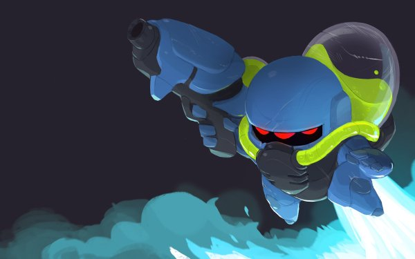 Video Game Nuclear Throne Lil' Hunter HD Wallpaper | Background Image
