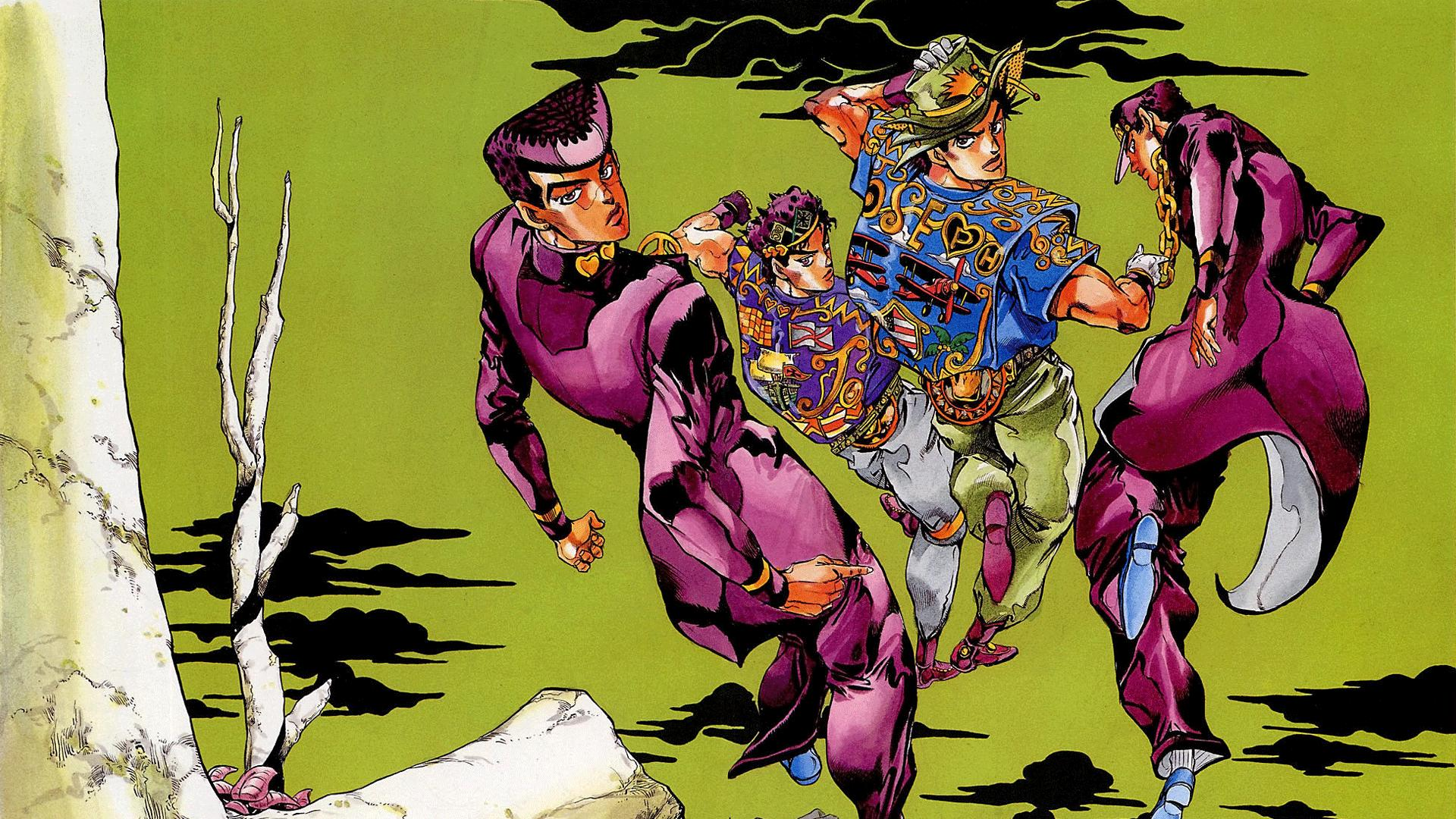 Jojo S Bizarre Adventure 1 4 Hd Wallpaper Background
