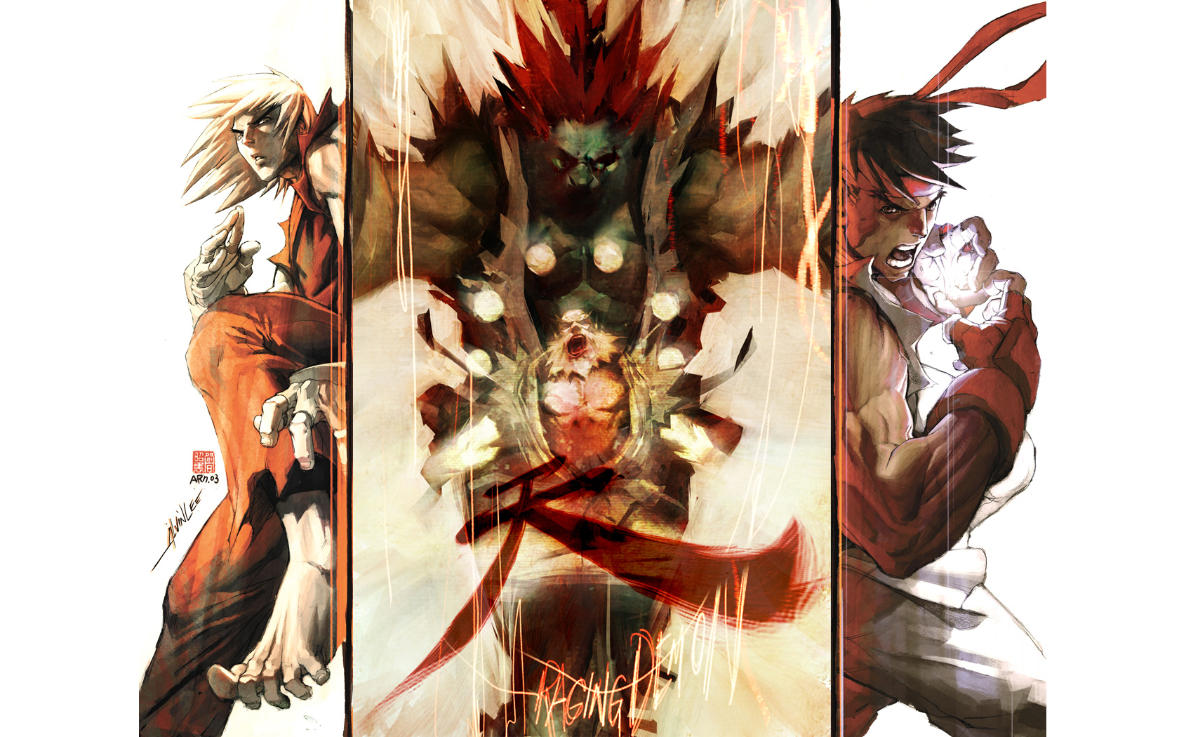street fighter wallpaper and background image | 1680x1050 | id:75710