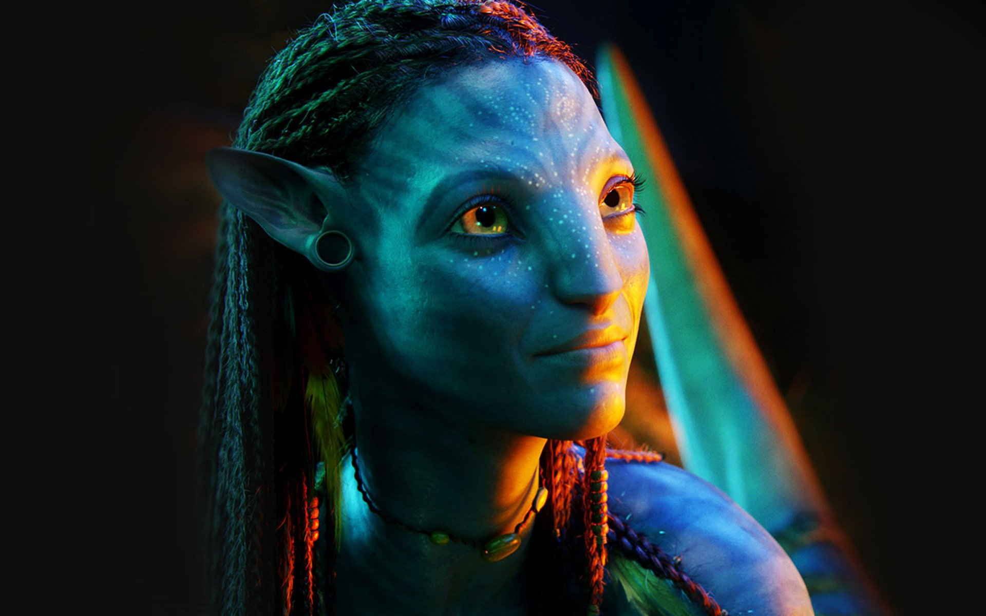 Movie - Avatar  Navi Neytiri Wallpaper